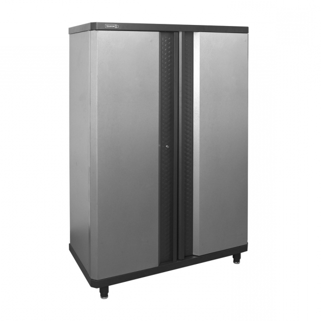 Stylish Shop Kobalt 48 In W X 72375 In H X 205 In D Steel Freestanding Kobalt Storage Cabinet