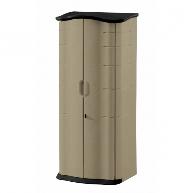 Stylish Shop Small Outdoor Storage At Lowes Rubbermaid Outdoor Storage Cabinets