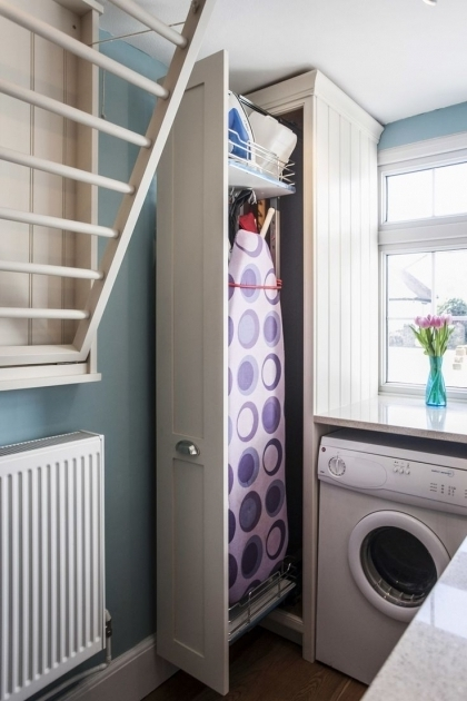 Alluring 25 Best Ideas About Ironing Board Storage On Pinterest Ironing Ironing Board Storage Cabinet