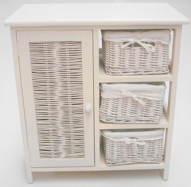 Alluring Bathroom Storage Cabinets With Wicker Drawers House Decor Wicker Storage Cabinets