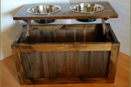 Dog Food Storage Cabinet
