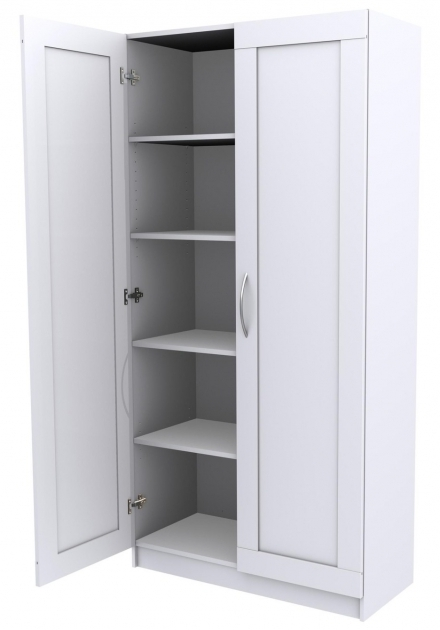 Alluring Grey White Storage Cabinet With Doors For Large Office Desk Large Storage Cabinet With Doors