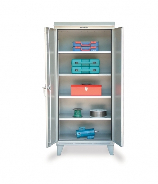 Alluring Strong Hold Products Outdoor Storage Cabinet Outdoor Storage Cabinets With Shelves