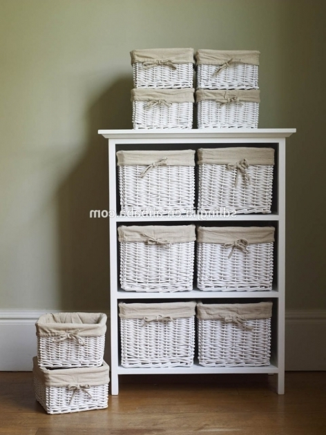 Amazing bathroom enchanting wooden and rattan chest of - Wicker bathroom storage cabinets ...