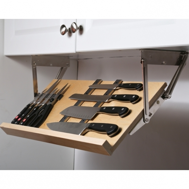 Awesome This Under Cabinet Knife Block Gives You A Simple Way To Store And Under Cabinet Knife Storage