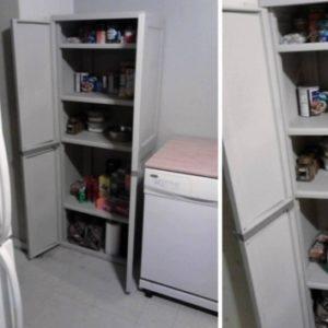 Sterilite 4-Shelf Utility Storage Cabinet