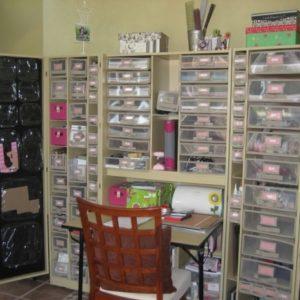 Scrapbook Storage Cabinets