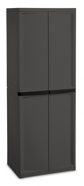 Best Sterilite 0142 4 Shelf Cabinet Sterilite 4Shelf Utility Storage Cabinet