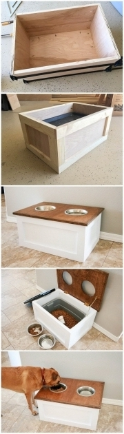Fascinating 25 Best Ideas About Dog Food Storage On Pinterest Rustic Dog Food Storage Cabinet