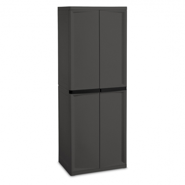 Fascinating Sterilite 4 Shelf Cabinet Flat Gray Walmart Sterilite 4Shelf Utility Storage Cabinet