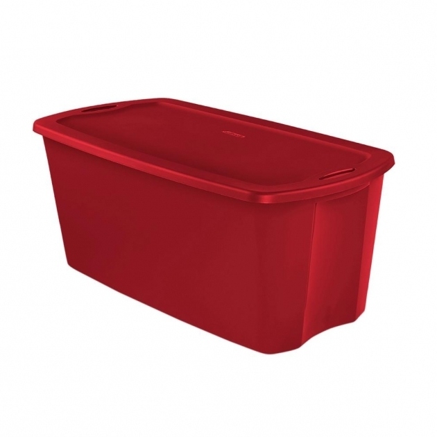 Fascinating Sterilite 50 Gal Storage Tote Case Of 4 18496604 The Home Depot 50 Gallon Storage Bin