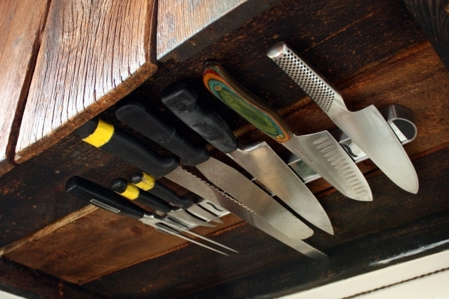 Gorgeous Space Solutions Under Cabinet Knife Rack Under Cabinet Knife Storage