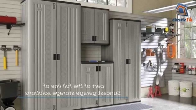 Gorgeous Suncast Uk Tall Storage Cabinet Youtube Suncast Storage Cabinets