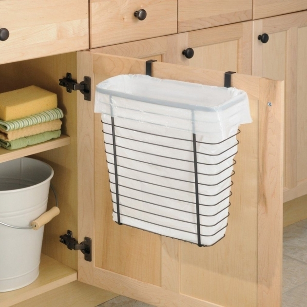 Image of Kitchen Utensils 20 Ideas Kitchen Trash Can Cabinet White Trash Bin Storage Cabinet