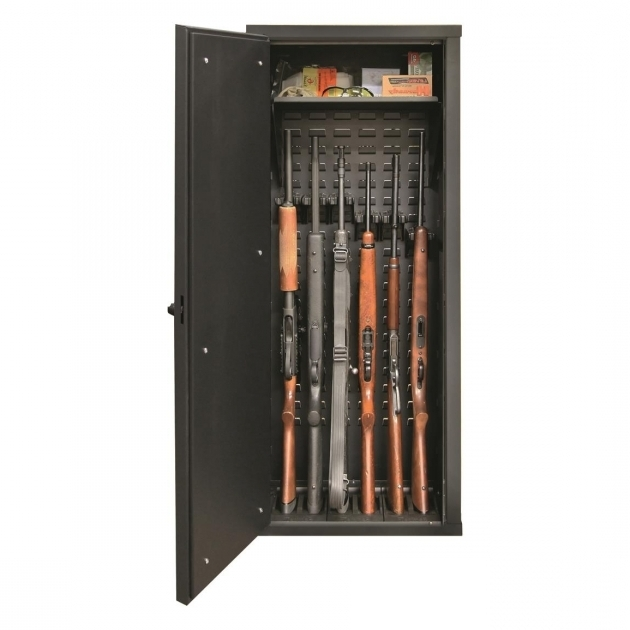 Image of Secureit Tactical Model 52 Gun Cabinet Holds 6 Rifles With Secureit Tactical Model 52 Six Gun Storage Cabinet