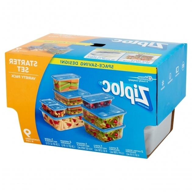 Image of Ziploc Containers Variety Pack Walmart Exclusive 9 Count Ziploc Food Storage Containers