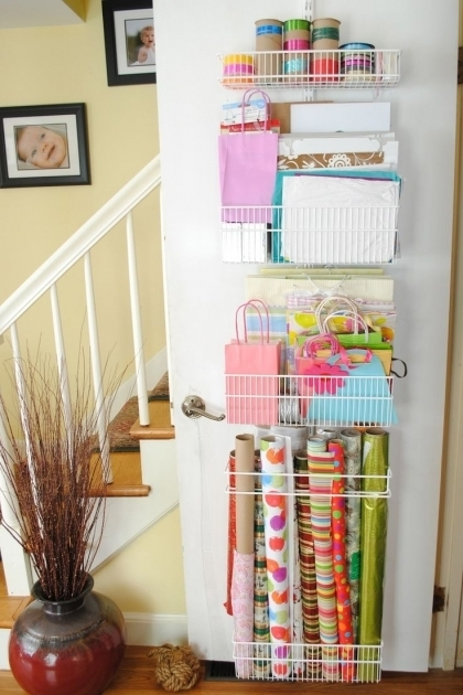 Incredible 60 Best Images About Gift Wrap Station On Pinterest Christmas Container Store Wrapping Paper Storage