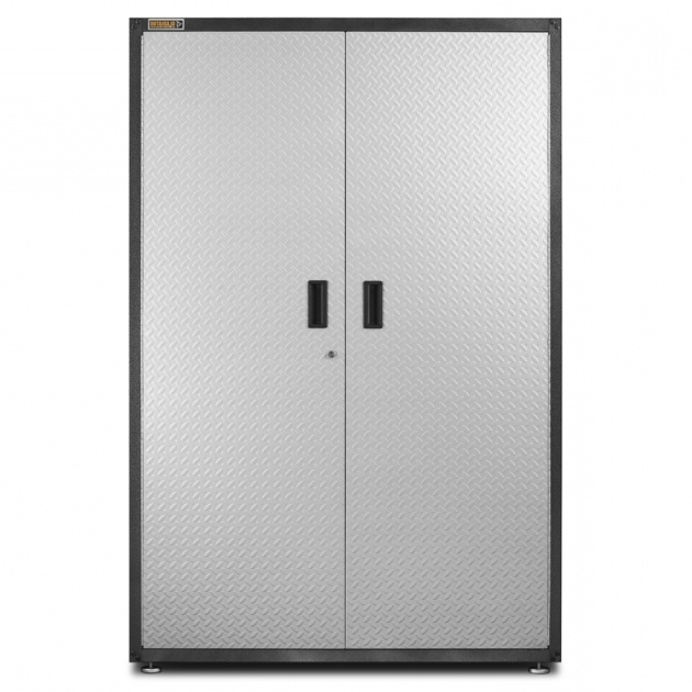 Incredible Shop Garage Cabinets Storage Systems At Lowes Lowes Storage Cabinets White