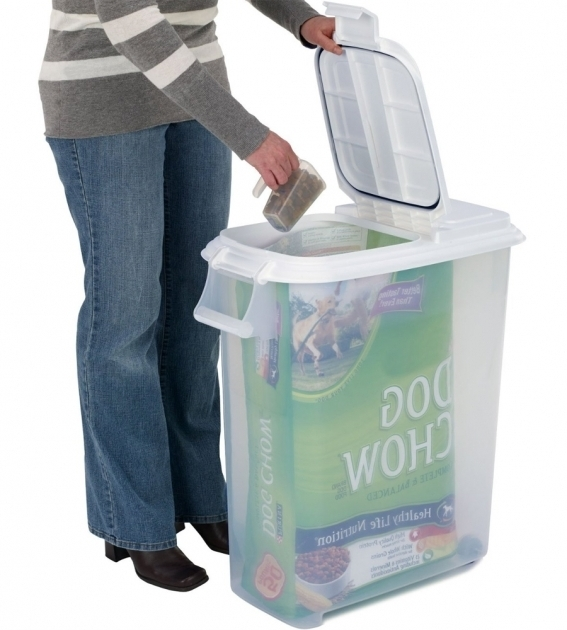 Lb Dog Food Container
