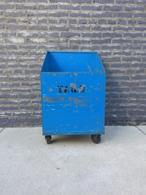 Inspiring Industrial Rolling Storage Bin Blue Sports Equipment Storage Sports Storage Bin