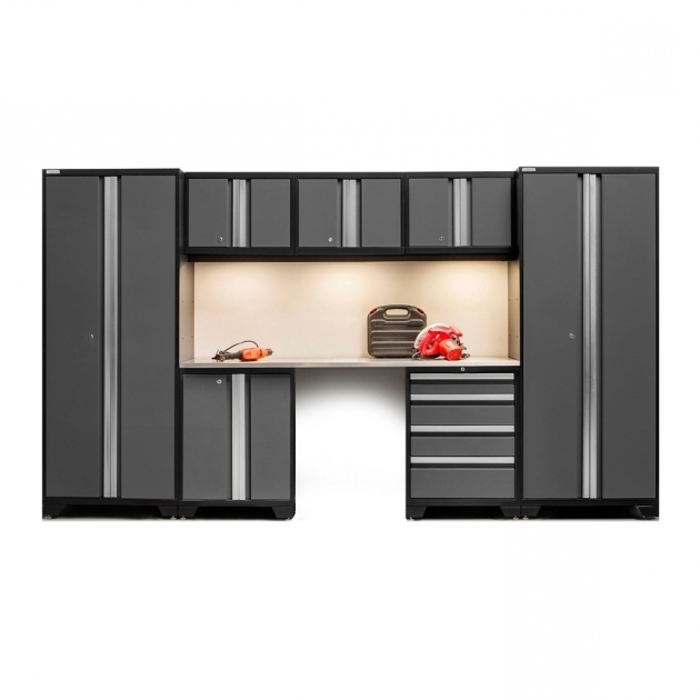 Outstanding Home Tips Create A Customized Storage Space With Lowes Garage Garage Storage Cabinets Costco