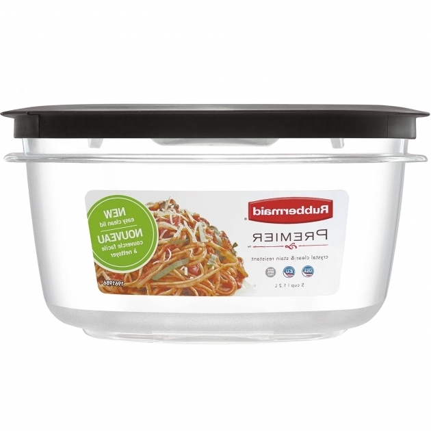 Outstanding Rubbermaid Premier Food Storage Container 5 Cup Walmart Rubbermaid Kitchen Storage Containers