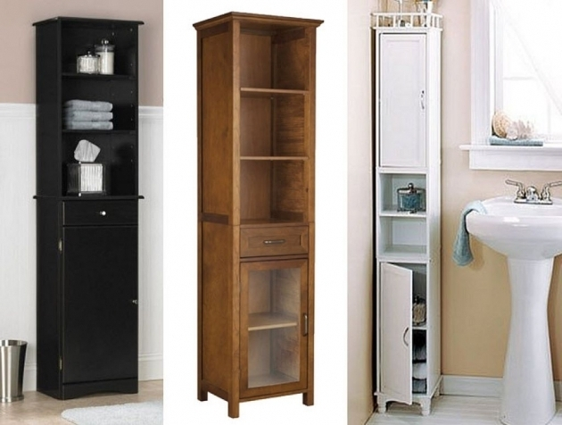 Picture of Amazing Narrow Bathroom Cabinets 1 Tall Narrow Bathroom Storage Tall Skinny Storage Cabinets