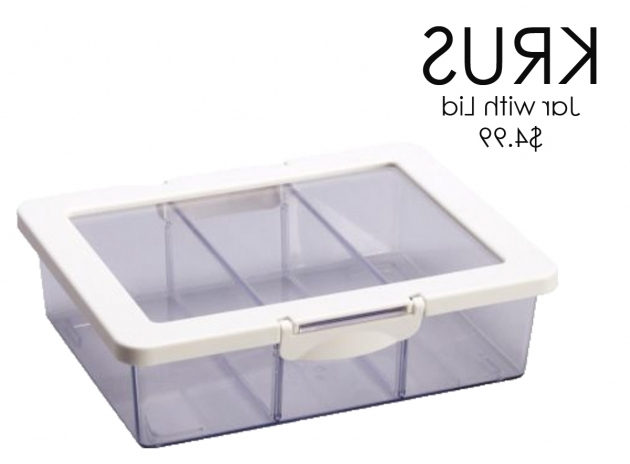 Picture of How To Get Organized Makeup Storage Idea Odmakeup Tea Bag Storage Container