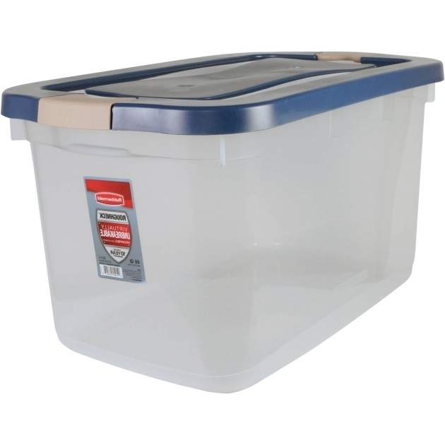 Picture of Plastic Storage Boxes Walmart Large Clear Storage Bins