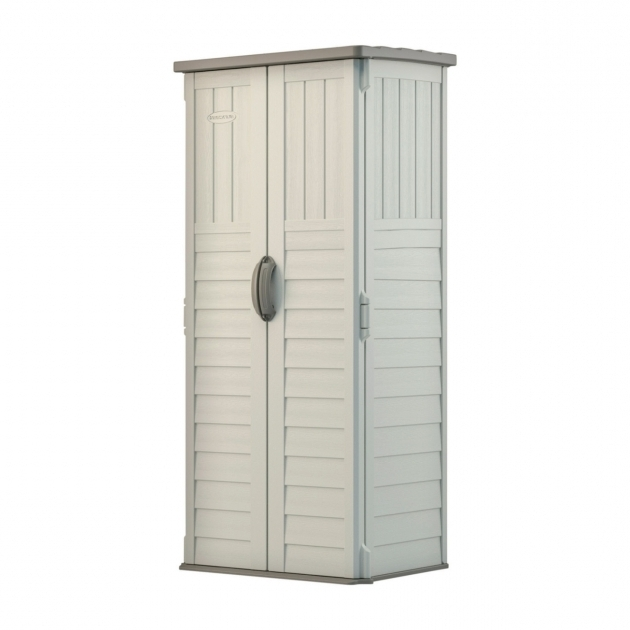 Picture of Suncast Outdoor Storage Ace Hardware Suncast Storage Cabinets