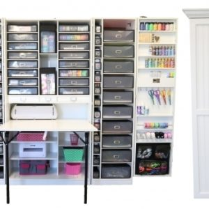 Arts And Crafts Storage Cabinet
