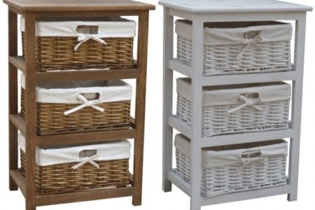 Wicker Storage Cabinets
