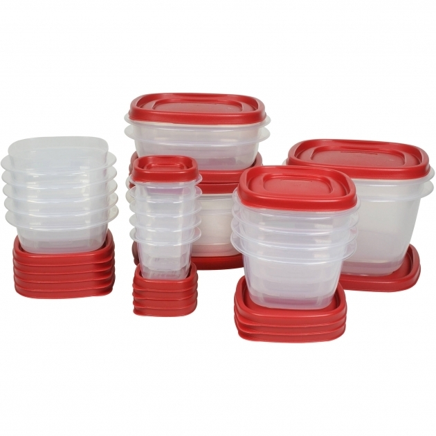 Remarkable Rubbermaid 40 Piece Easy Find Lid Food Storage Set Walmart Rubbermaid Kitchen Storage Containers