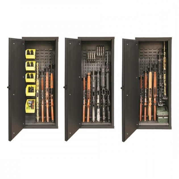 Remarkable Secureit Tactical Model 52 Gun Cabinet Holds 6 Rifles With Secureit Tactical Model 52 Six Gun Storage Cabinet