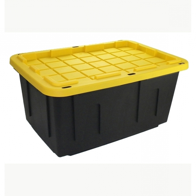 Remarkable Shop Plastic Storage Totes At Lowes Lowes Storage Containers