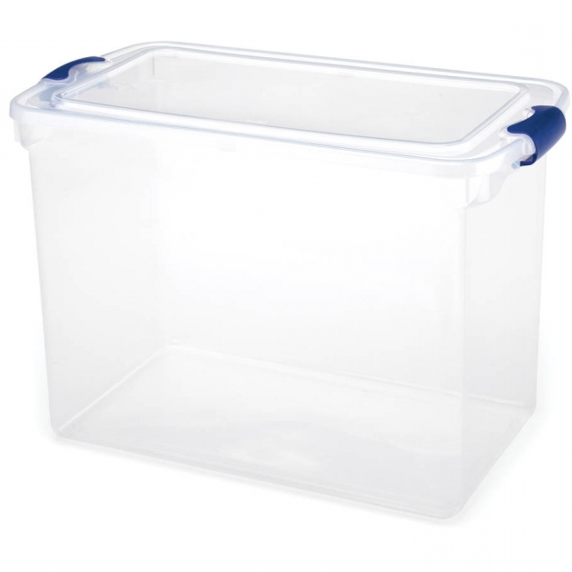 Remarkable Tote With Wheels Large Clear Storage Bins