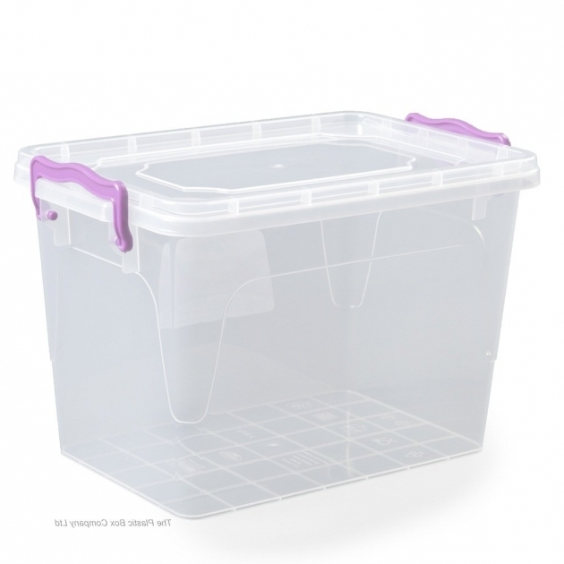 Stunning Buy 145lt Small Clippy Box With Lid Tall Plastic Storage Bins