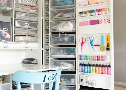 Craft Room Storage Cabinets