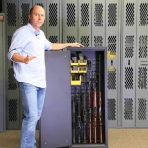 Secureit Tactical Model 52 Six Gun Storage Cabinet