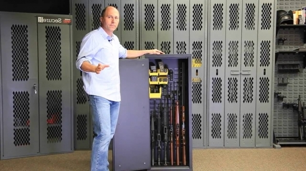 Stunning Model 52 Knockdown Cabinet Gun Storage Solutions Youtube Secureit Tactical Model 52 Six Gun Storage Cabinet