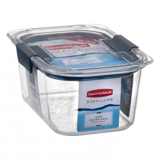 Stunning Rubbermaid Brilliance Medium Deep Container 10 Ct Walmart Rubbermaid Brilliance Food Storage Container Large 9.6 Cup Clear