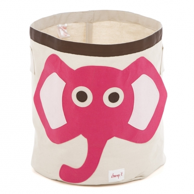 Alluring 3 Sprouts Elephant Storage Bin Reviews Wayfair Dinosaur Storage Bin