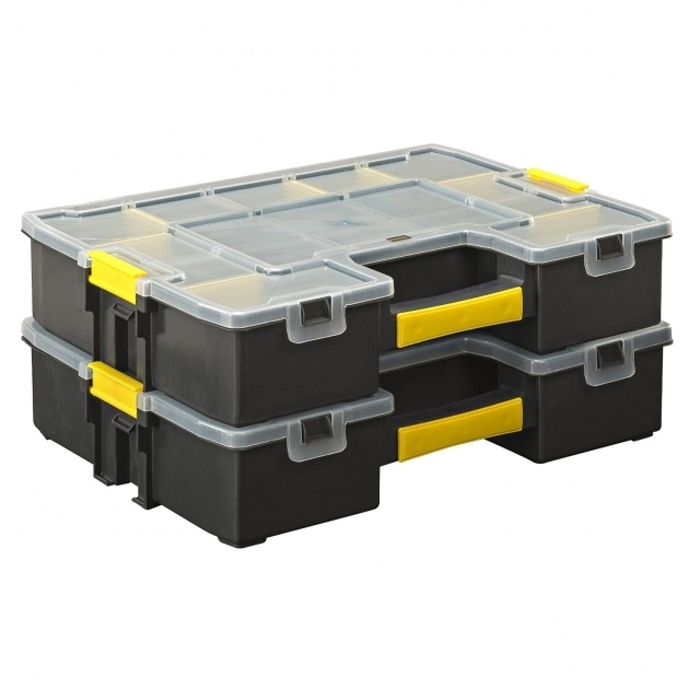 Alluring Stanley Stst14027 Small Parts Organizer Storage Box Container Small Parts Storage Containers