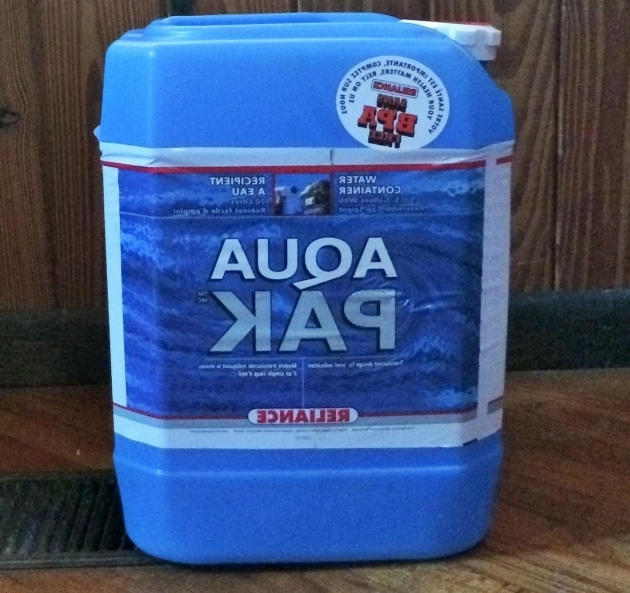 Alluring Water Storage Clean Water Ways To Store Water Survivalist Digest 5 Gallon Water Storage Containers