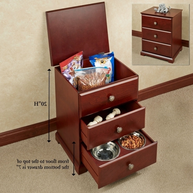 Amazing Pet Food Storage Cabinet With Bowls And Shelf Creative Cabinets Pet Food Storage Cabinet
