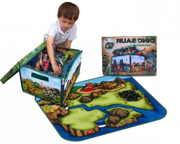 Awesome Dinosaur Storage Boxplaymat The Dinosaur Farm Dinosaur Storage Bin