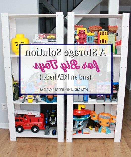Best A Storage Solution For Big Toys And An Ikea Hack Just A Girl Ikea Toy Storage Bins