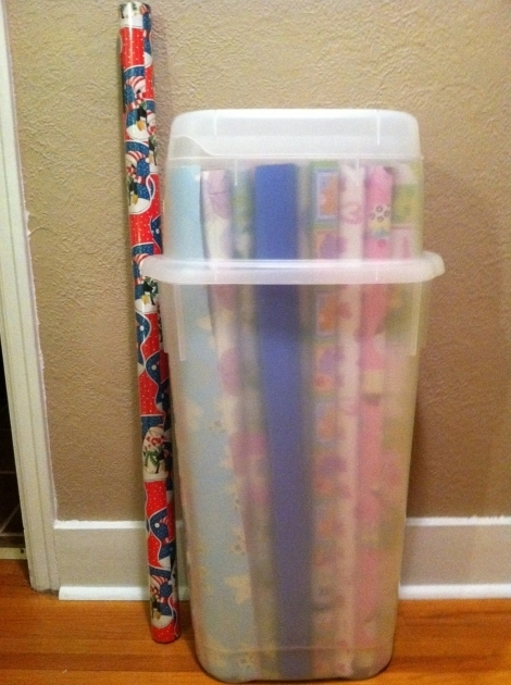 Best Christmas Wrapping Paper Storage Containers Wrapping Paper Storage Container