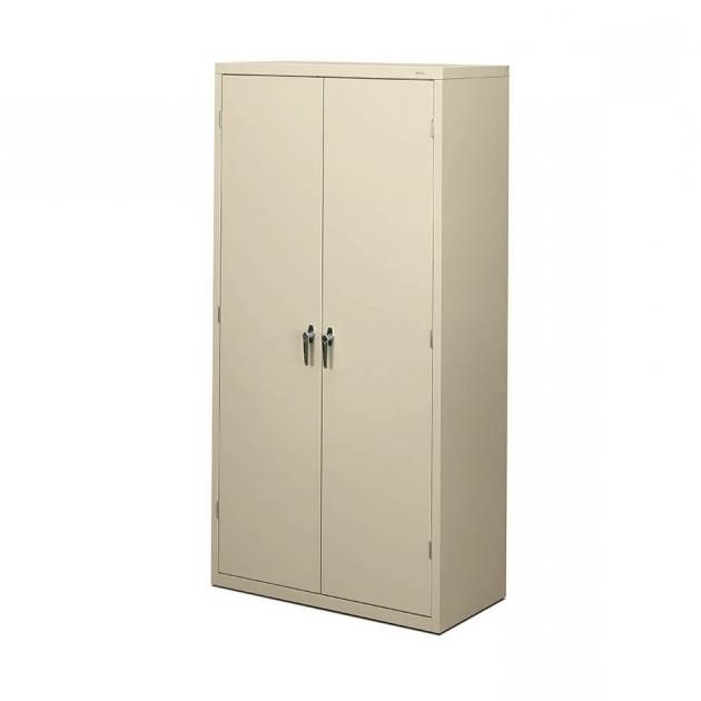 Best Hon Brigade 18in Deep Metal Storage Cabinet Hon Storage Cabinets