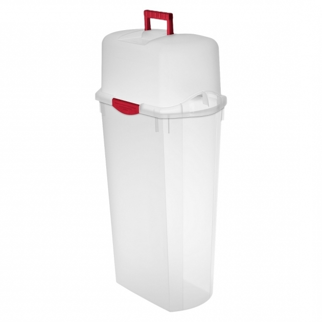 Best Storage Interesting Organizer Design Made From Transparent Plastic Wrapping Paper Storage Container